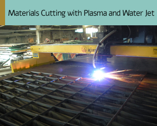 Materials Cutting with Plasma and Water Jet